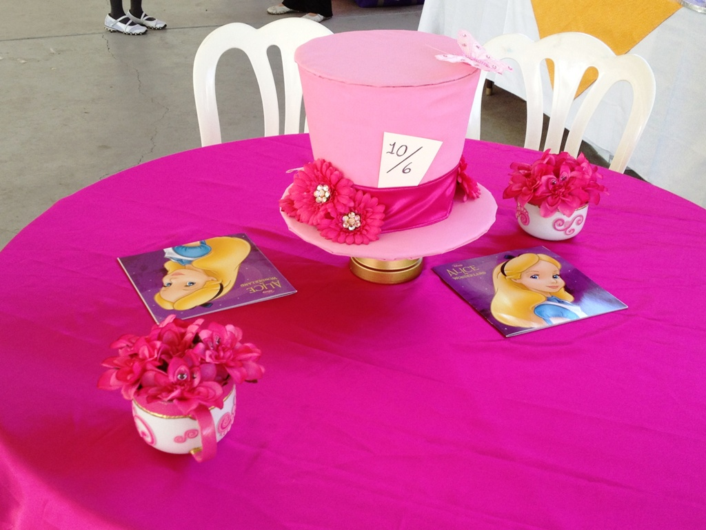 An Alice in Wonderland Bridal Shower - This Fairy Tale Life