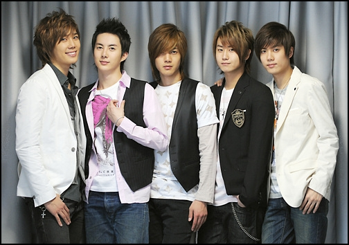 SS501 Boyband Korea Paling Populer