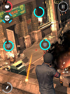 Screenshots of the All guns blazing for Android tablet, phone.