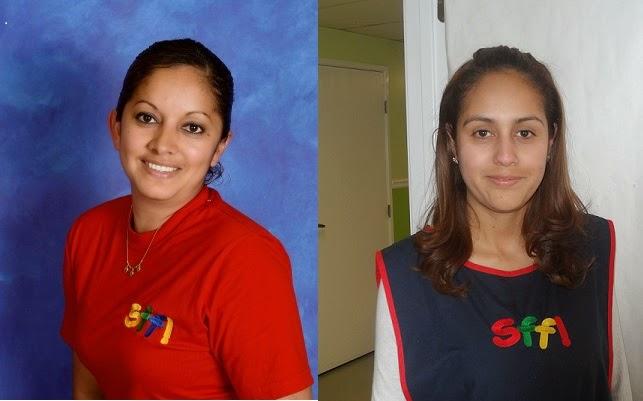 Ms. Elsa Fuentes & Ms. Maria Guadalupe