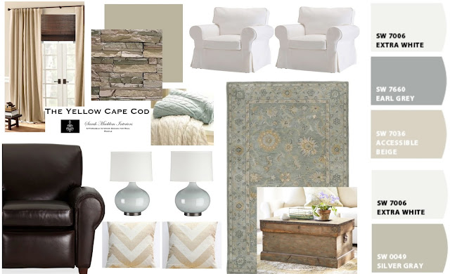 cape cod decorating style living room | My Web Value