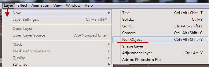 Use Null object control DOF 04