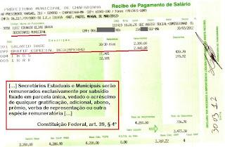 Chapadinha-MA: Vereador recebia gratificações ilegais