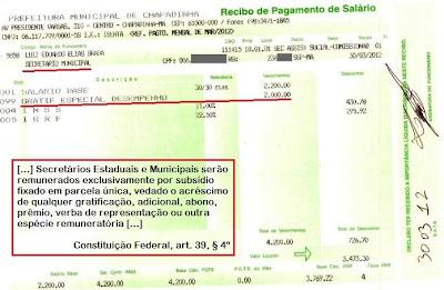 Chapadinha: Eduardo Braga e as gratificações ilegais