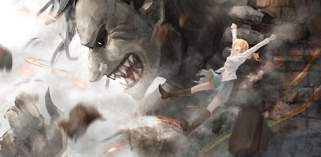 Ymir Titan Form Christa Renz Attack on Titan Shingeki no Kyojin Anime HD Wallpaper Desktop PC Background 2093