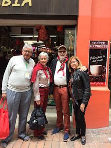 Con Mela Bryce y Felipe Voisst