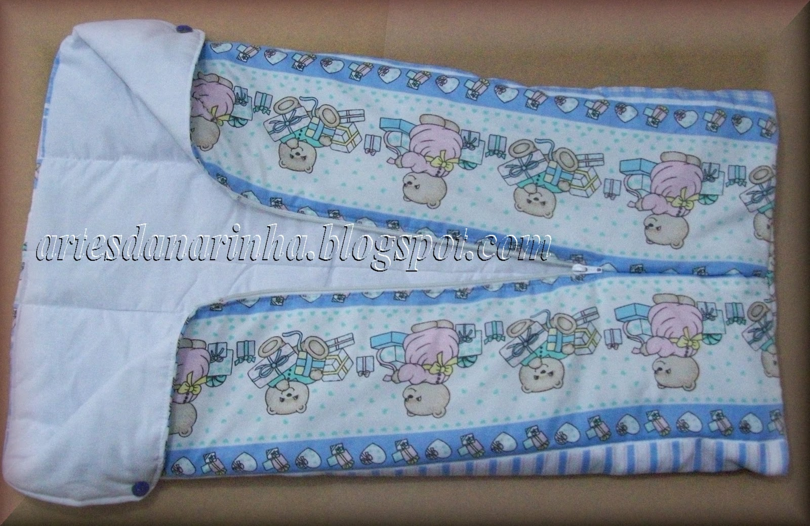 Artes da narinha porta beb saco de dormir para beb - Sacos para portabebes ...