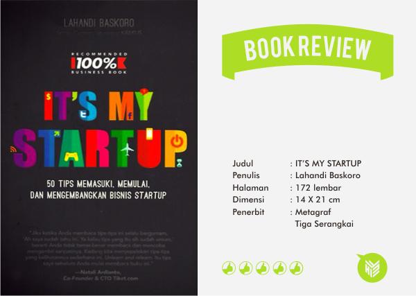 startup, startup digital, technopreneur, digipreneur, business digital, book, review, lahandi baskoro