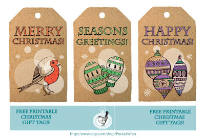 Christmas Themed Gift Tags