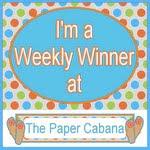 Paper Cabana Winner Rec'd 9-25-12