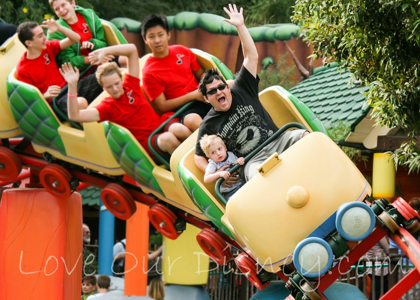 Disneyland 101 Thrill Rides