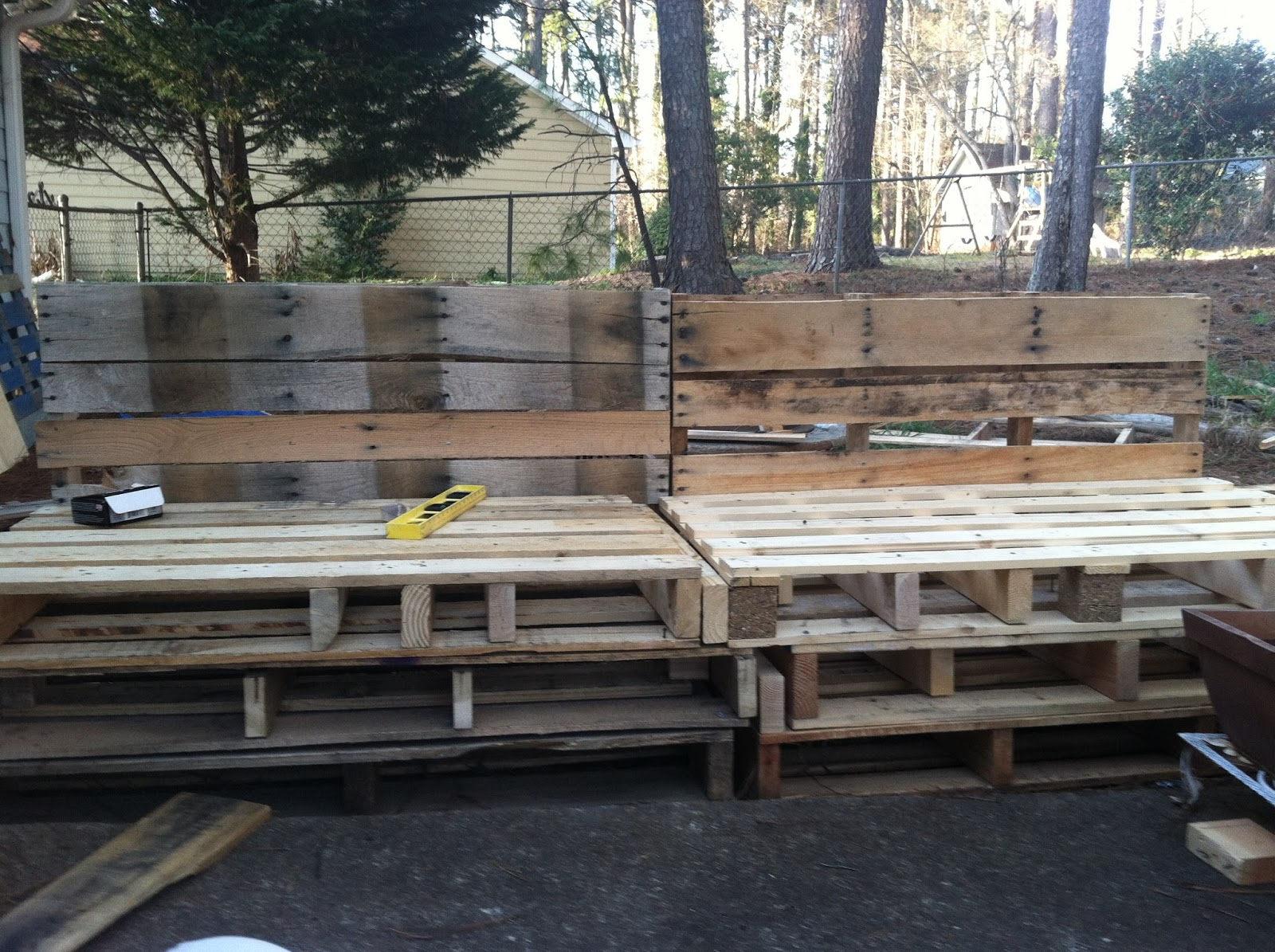 Pallet Sectional Plans plain pallet sectional plans 25 ideas on pinterest bench projects