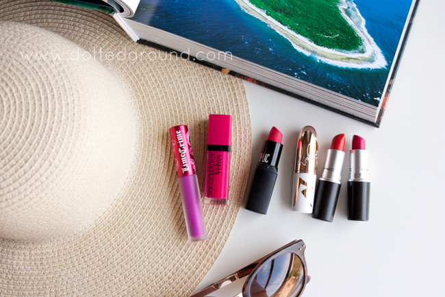 favorite summer lipsticks