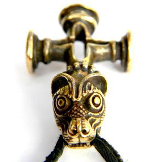 купить кулон исландский крест, молот тора глюкоморье