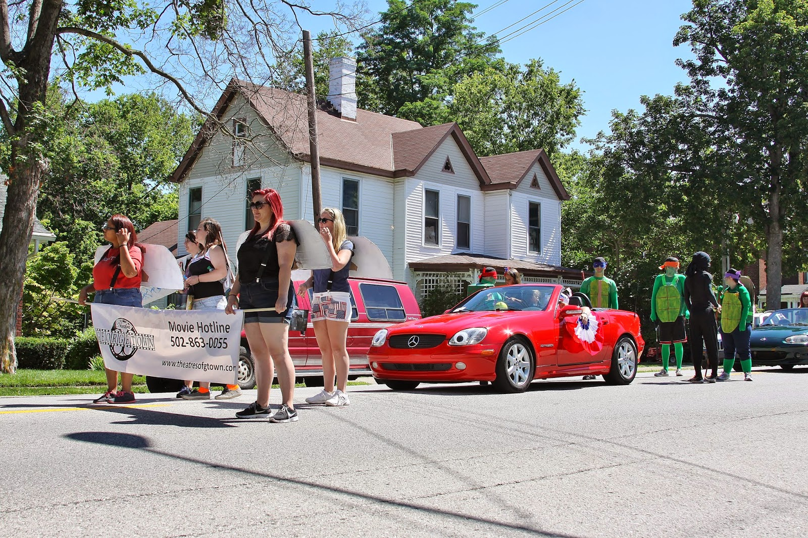 Blue eyed kentucky georgetown 39 s 4th of july parade part 3 for Georgetown movie theater