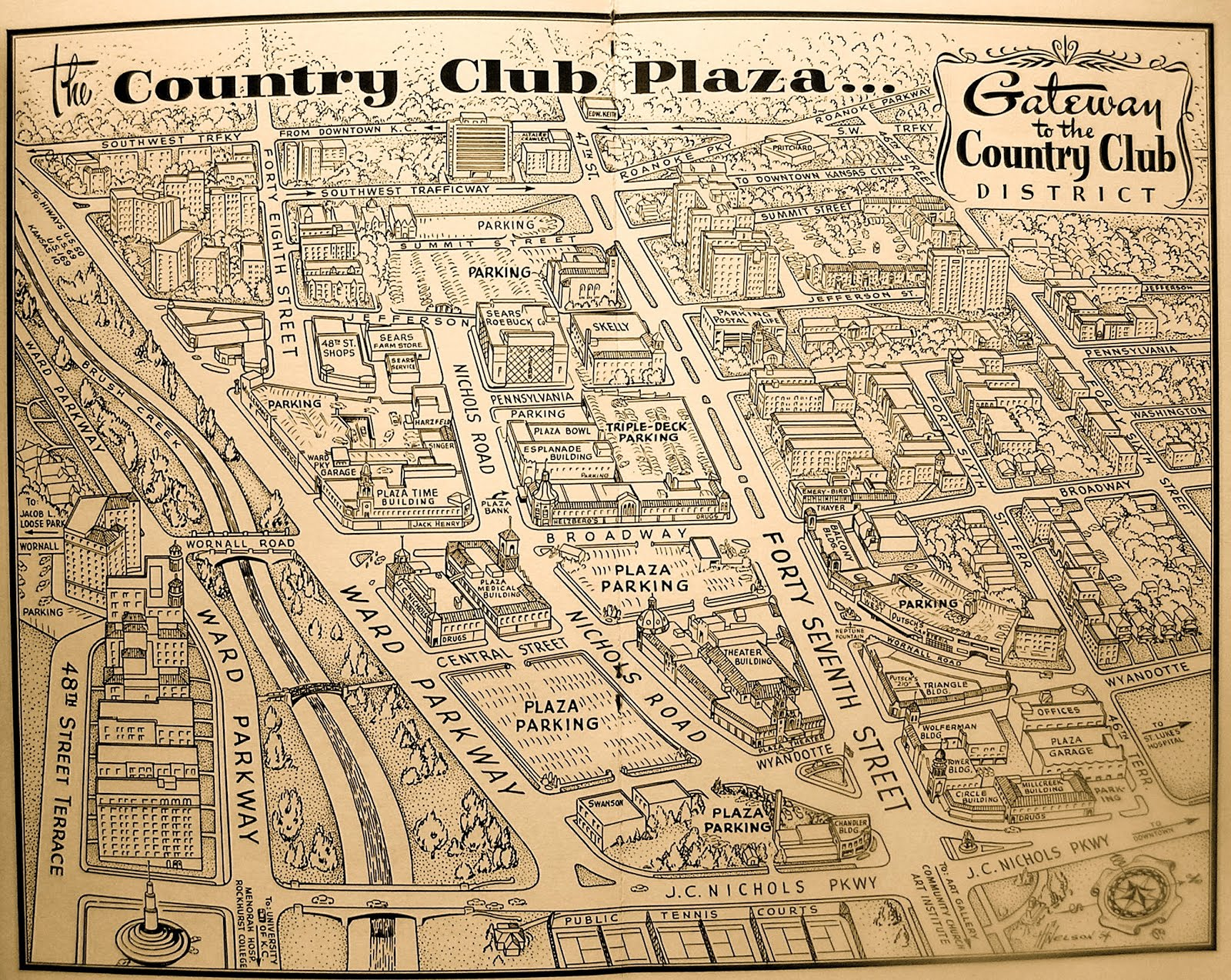 paris of the plains: The lost trees of the Country Club Plaza on