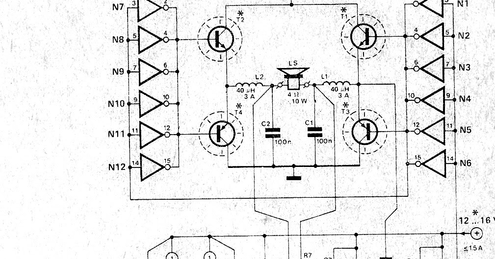 schematic diagram  simple high power car pdm power