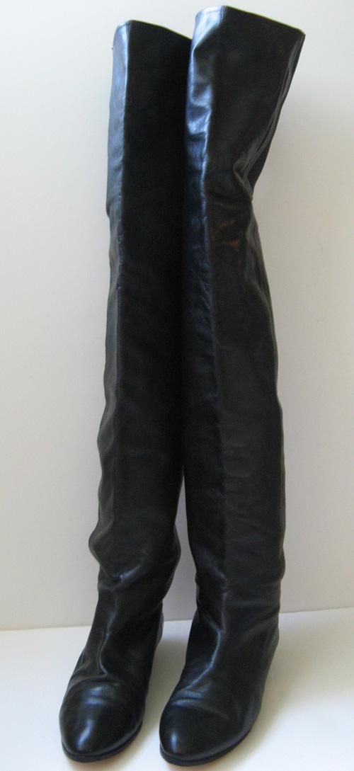 closet klein italian thigh high leather