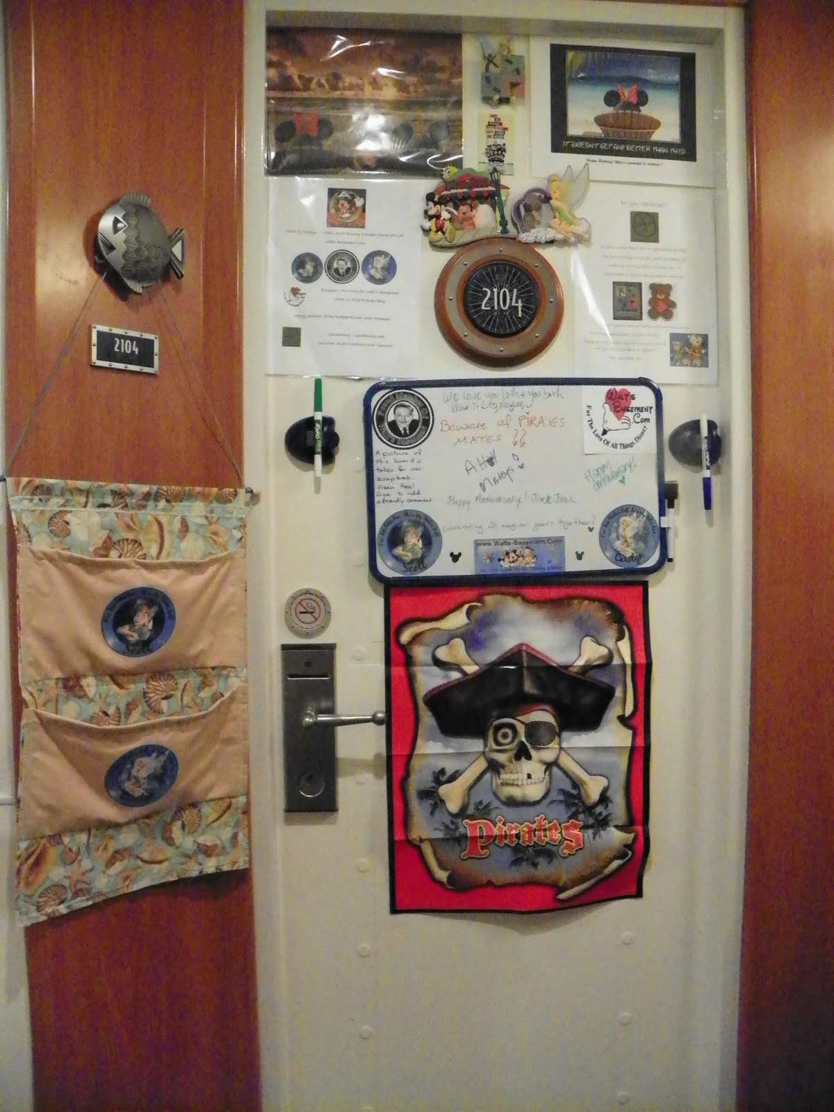 Pixie Pranks And Disney Fun Cruise Line Door Decor