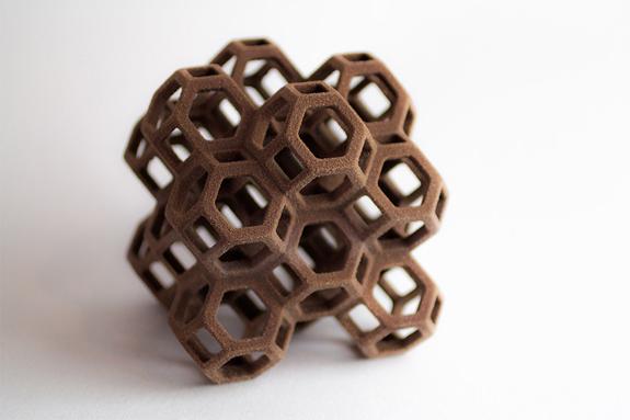 3Dプリンターでつくるチョコレート