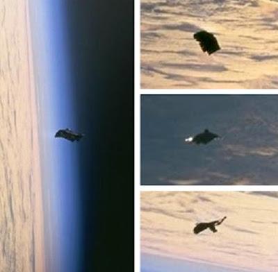 fotos de ovnis tomadas por la NASA