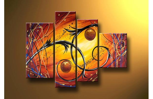 Tendencia en Arte: Cuadros tripticos
