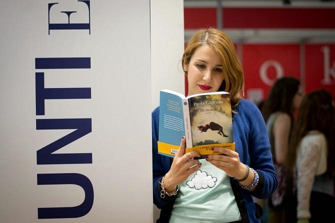 Mi ricordo Elisa Raimondo The Fashion Scan Giunti lettura sorriso #SalTo15 stand nuvole