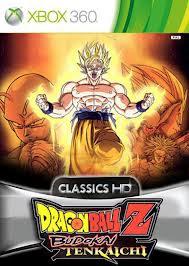 DragonBall Z Budokai Tenkaichi HD collection