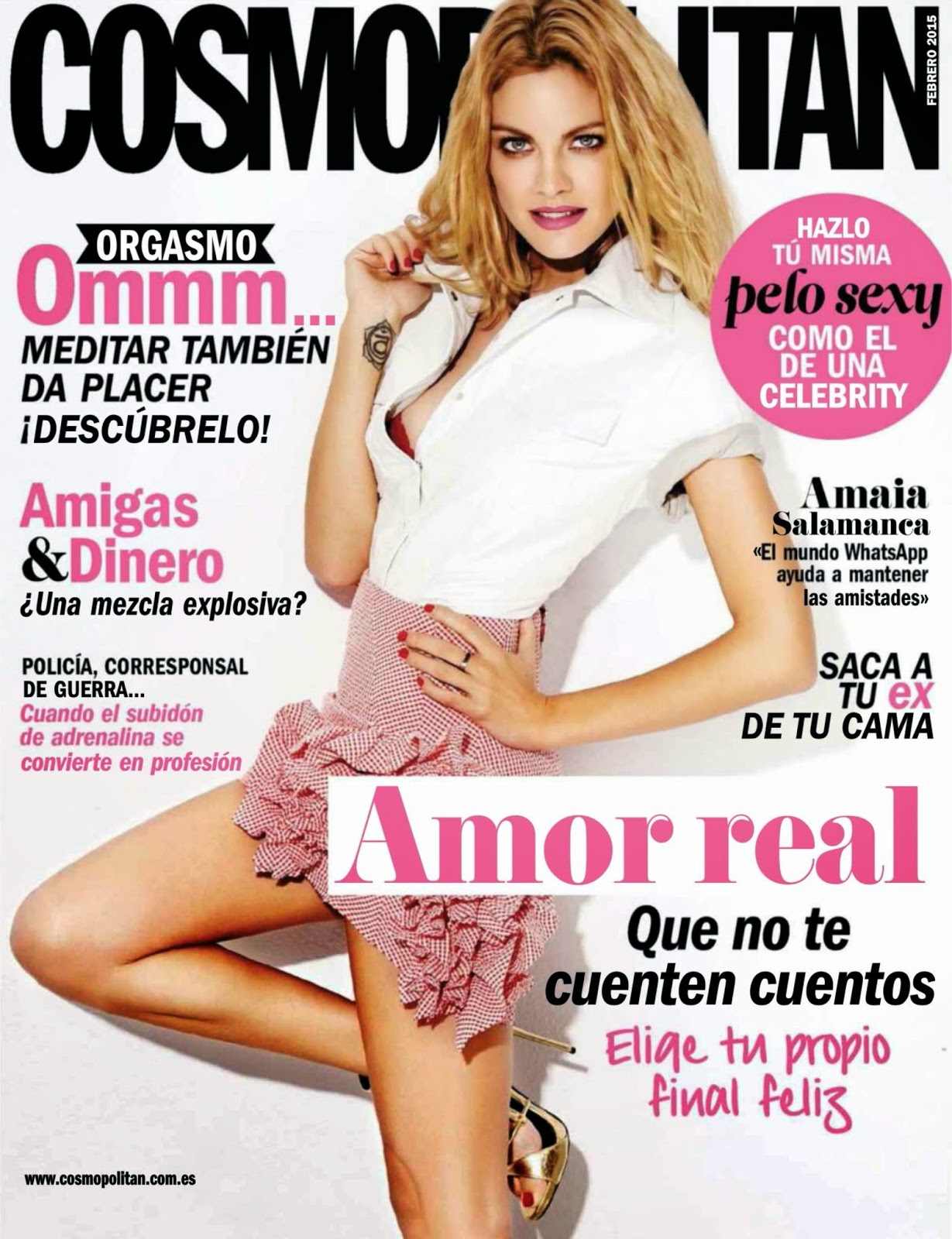 Actress, Model: Amaia Salamanca - Cosmopolitan, Spain