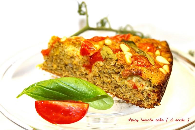 Petits repas entre amis g teau la tomate aux pices for Petit repas entre amis
