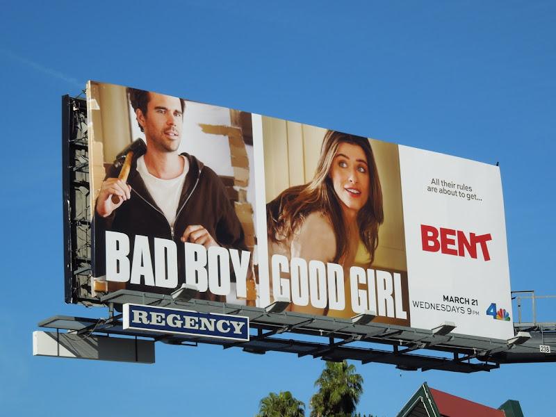 Bent series premiere billboard