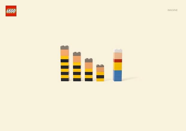 Nueva campaña Lego Jung Von Matt. Lucky Luke y los hermanos Dalton
