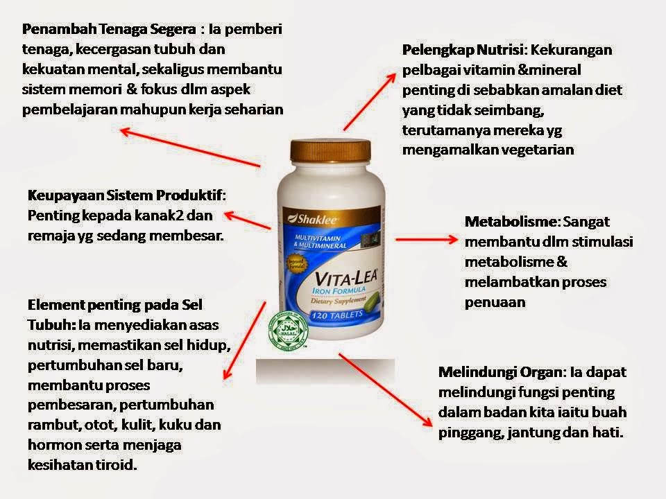 manfaat multivitamin Vitalea