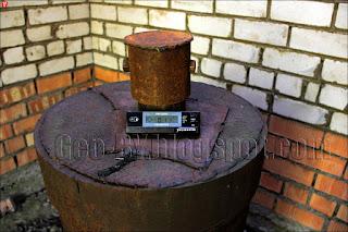 Измерение радиации внутри водозаборного сооружения