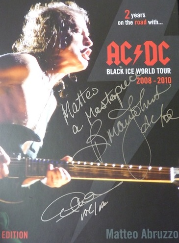 Ac Dc Black Ice World Tour Photobook