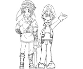 #8 Luigi Coloring Page