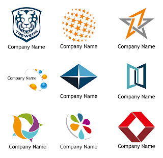 9種類のロゴ見本 Vector Logo Templates