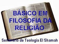 BÁSICO EM FILOSOFIA DA RELIGIÃO