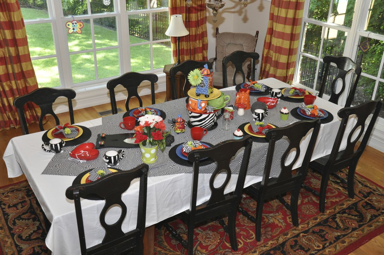 Joyful Always: The Alice in Wonderland Unbirthday Party