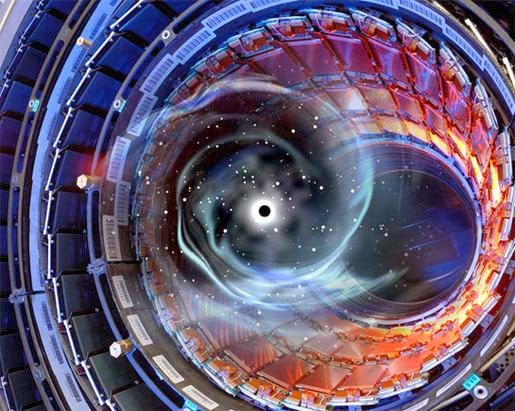Image result for hadron collider black hole