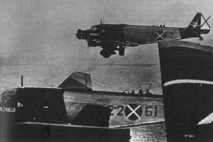 Junkers Ju 52 bombers