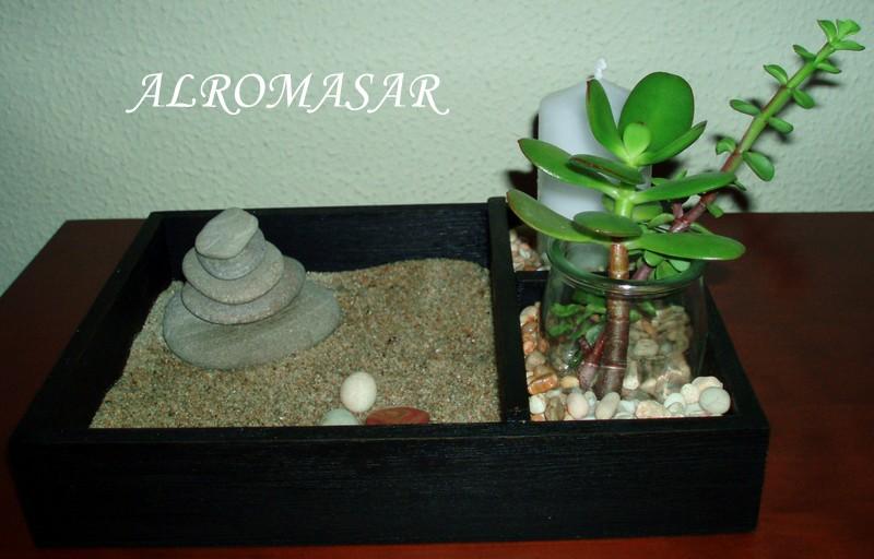 Alromasar mini jardin zen for Jardin miniature zen