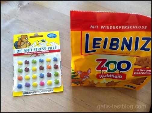 Anti-Stress-Pille von Bärenbande und Zoo Waldtiere von Leibniz