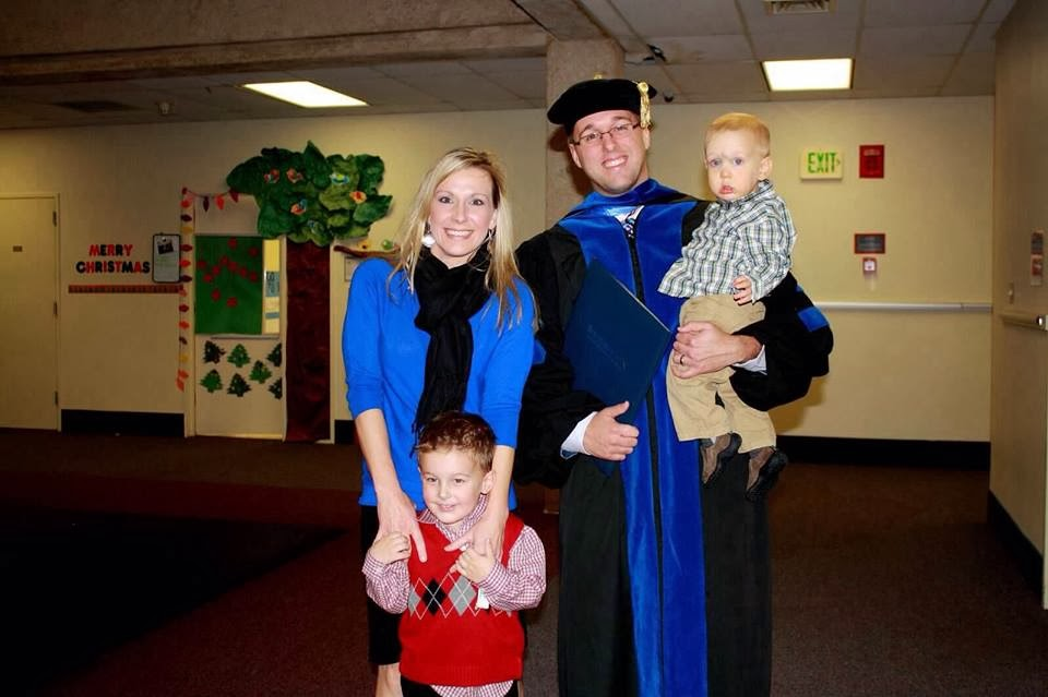 Dr. Plumlee-Graduation 2013