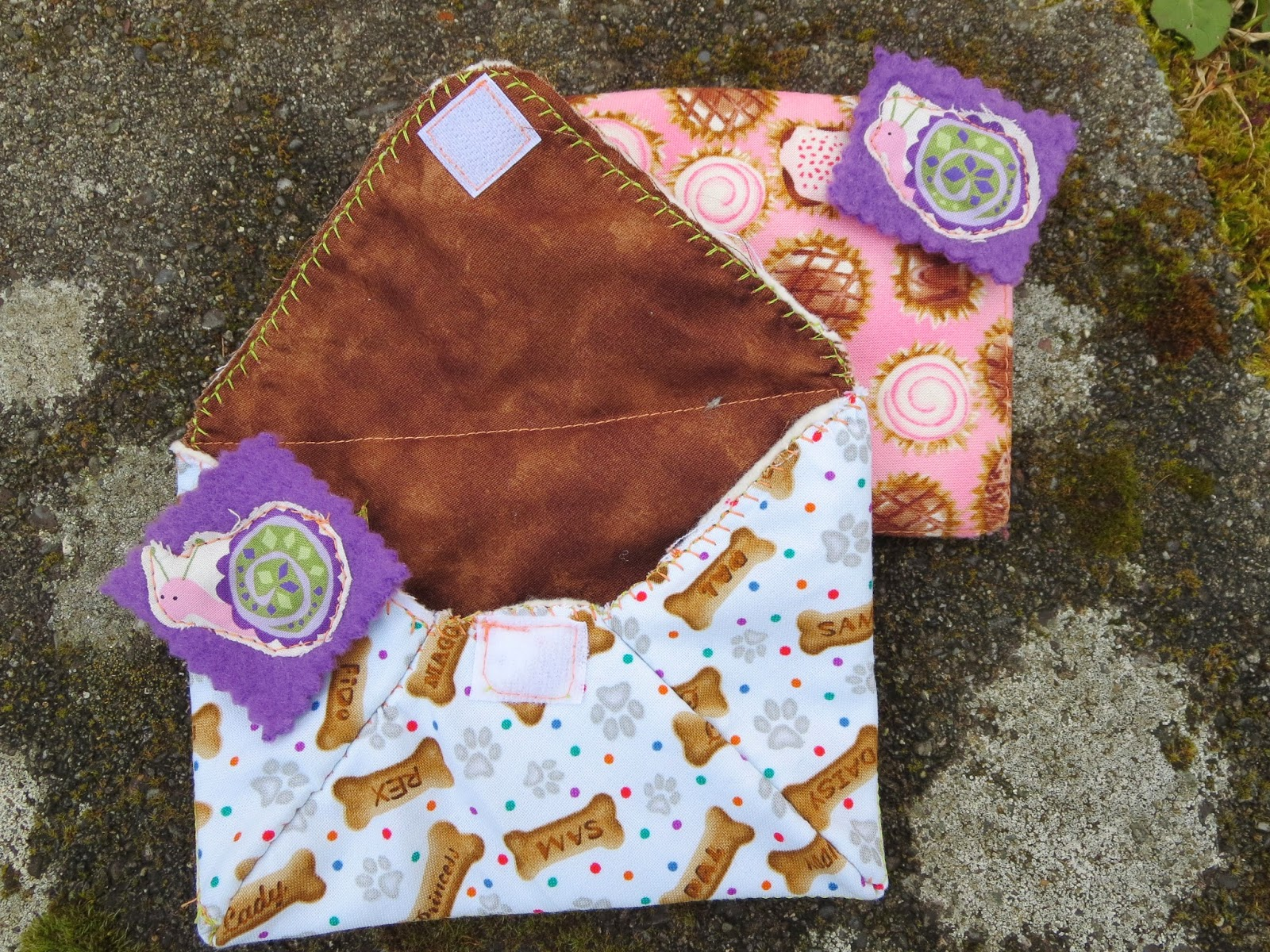 fresh crafts blog - fabric envelopes