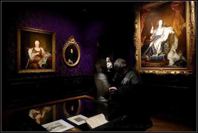 Le roi est mort exhibition Versailles Louis XIV
