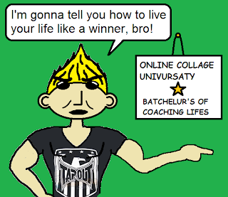 life coach funny stupid