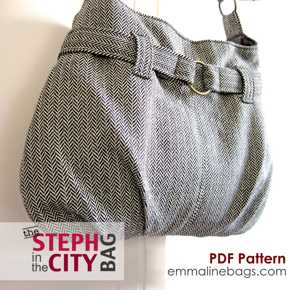 Free Hobo Purse Pattern : Bags: Sewing Patterns and Purse Supplies: A New Sewing Pattern ...