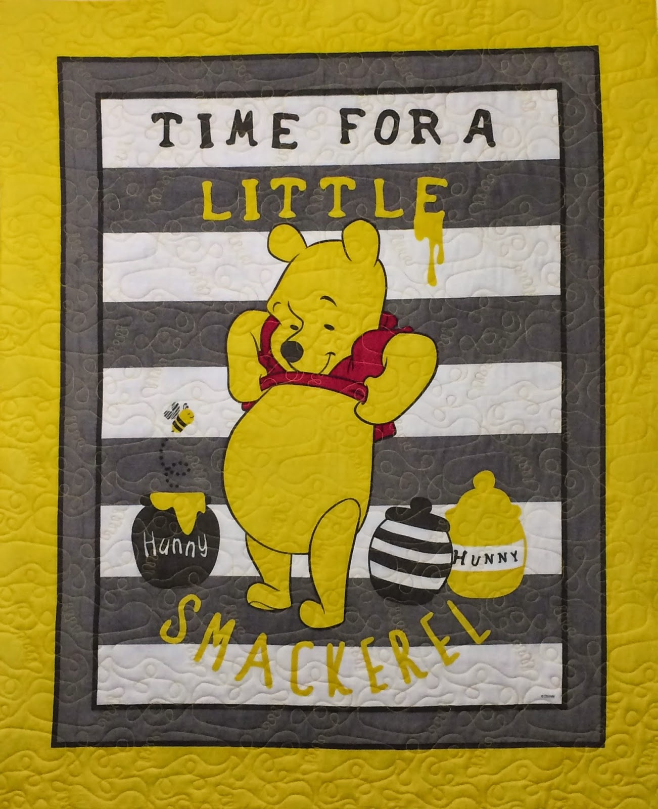 Wendy Bell's Winnie-the-Pooh Baby Quilt