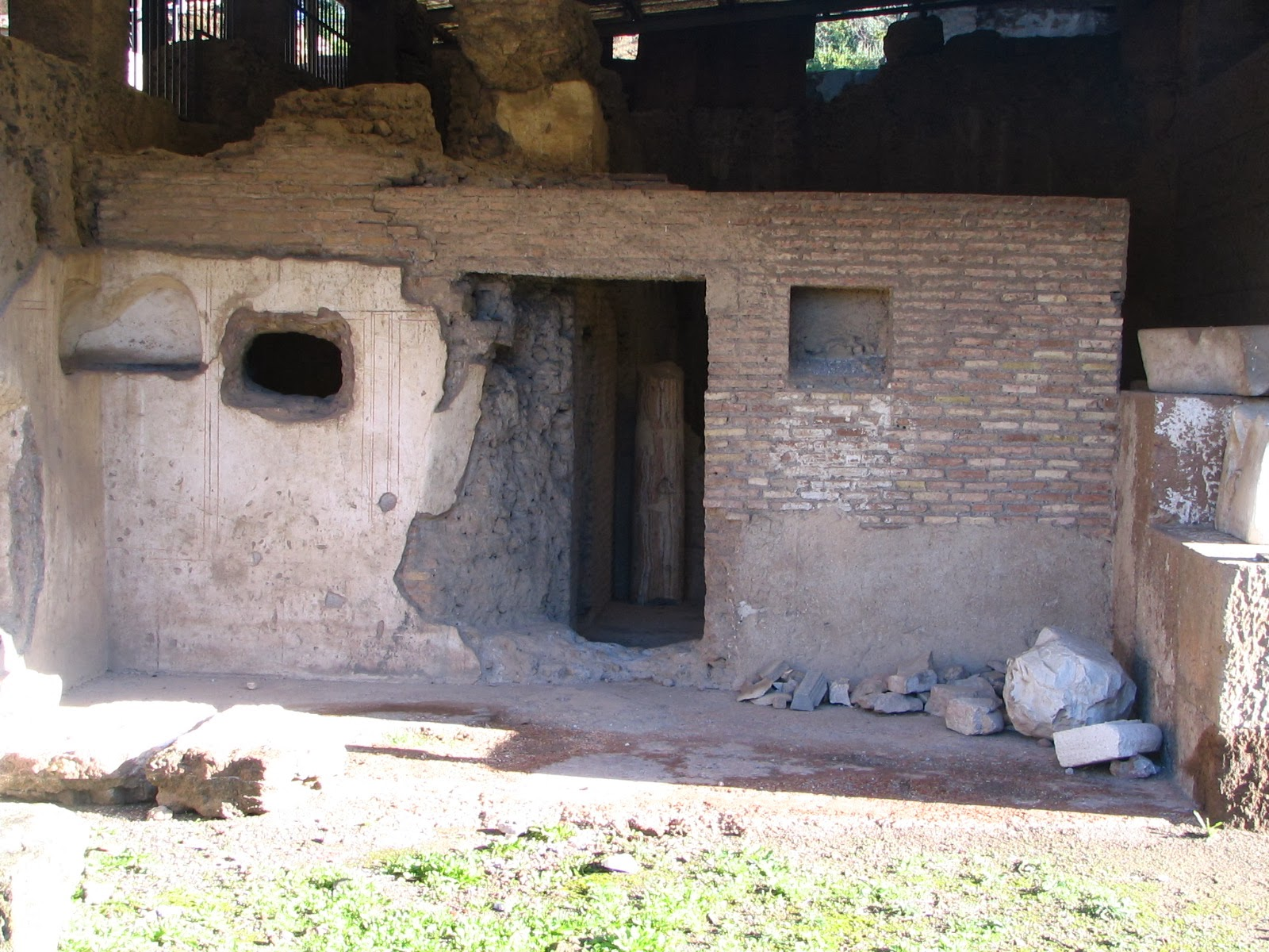 Roma - Palatino - Casa de Augusto